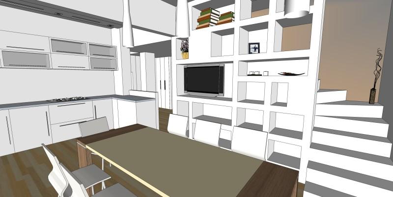 Lavori in corso areanova - Progetto scale interne ...