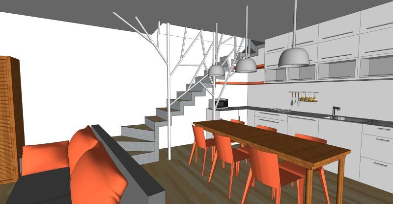 Genova appartamento privato areanova for Progetto piano terra