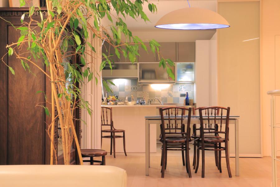 La casa sul mare varazze sv cucina e zona pranzo areanova - Officina di cucina genova ...