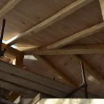 Intradosso della copertura in legno