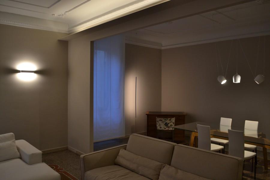 Illuminazione Ingresso Appartamento : La casa del ciclista appartamento classico contemporaneo areanova