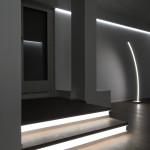Luce e materia - dettaglio luci zona giorno