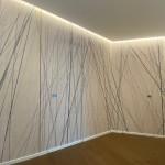 Luce e materia - Wallpaper ingresso